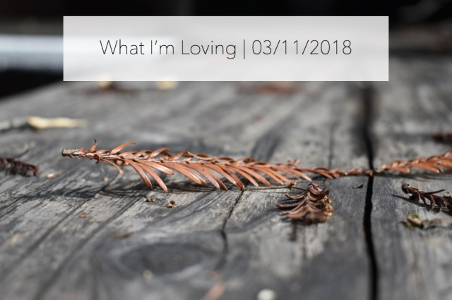 WhatImLoving-3.11.18